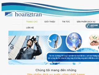 hoangtranwater.bizwebvietnam.com screenshot