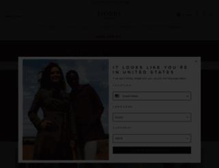 hobbs.co.uk screenshot