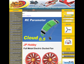 hobby-paradise.com screenshot