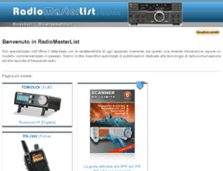 hobby-radio.it screenshot