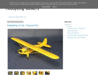 hobbyking-junkers.blogspot.hu screenshot