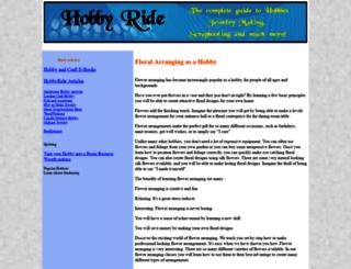 hobbyride.com screenshot