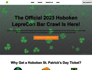 hobokenleprecon.com screenshot
