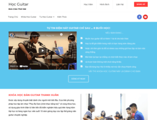 hocguitar.net screenshot