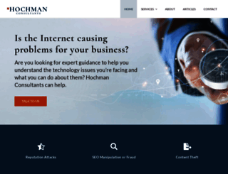 hochmanconsultants.com screenshot