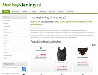 hockeykleding.nl screenshot