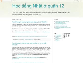 hoctiengnhatquan12.blogspot.com screenshot
