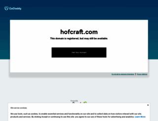 hofcraft.com screenshot