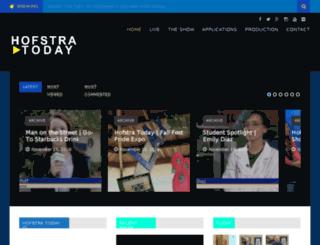 hofstratoday.com screenshot