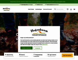 hogenboomvakantieparken.nl screenshot
