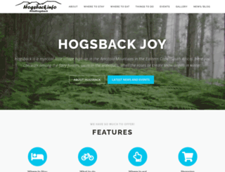hogsbackinfo.co.za screenshot