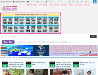 hoituthienquangnam.com screenshot