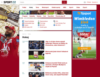 hokej.sport.cz screenshot