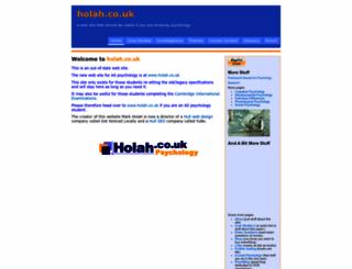 holah.karoo.net screenshot