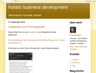 holbizdev.blogspot.co.at screenshot