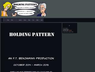 holdingpattern.thecomicseries.com screenshot