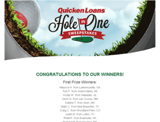 holeinone2015.dja.com screenshot