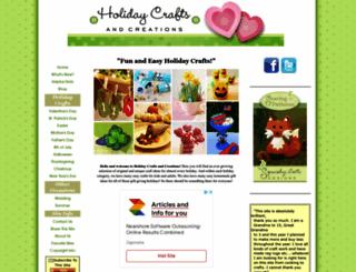 holiday-crafts-and-creations.com screenshot