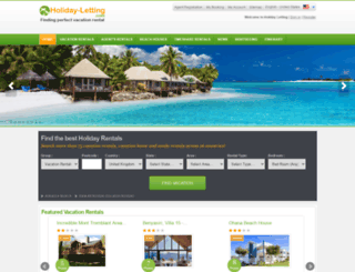 holiday-letting.com screenshot
