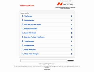 holiday-portal.com screenshot