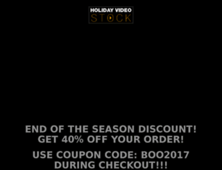 holiday-video-stock.com screenshot