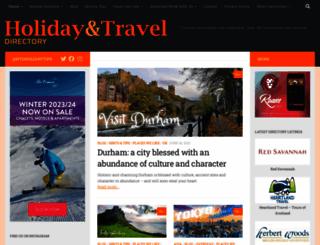 holidayandtraveldirectory.co.uk screenshot