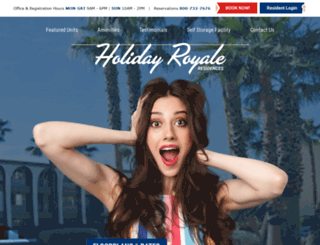 holidayroyale.com screenshot