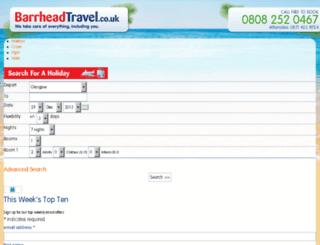 holidaysearch.barrheadtravel.co.uk screenshot
