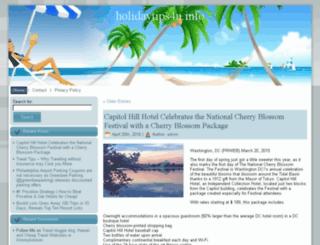 holidaytips4u.info screenshot