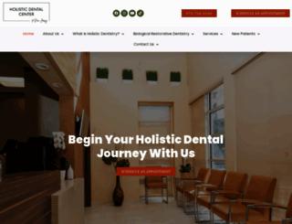 holisticdentalcenternj.com screenshot