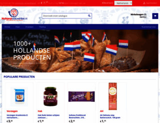 hollandwebwinkel.nl screenshot