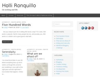 hollironquillo.com screenshot