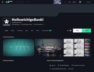 hollowichigobanki.deviantart.com screenshot