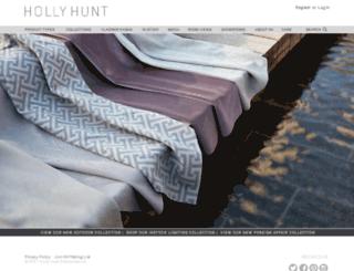 hollyhunt.com.br screenshot