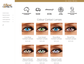 hollywoodcontacts.com.au screenshot