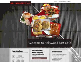 hollywoodeastcafe.com screenshot