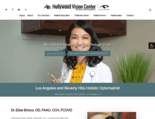 hollywoodvision.com screenshot