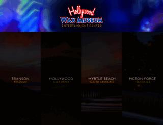hollywoodwaxentertainment.com screenshot