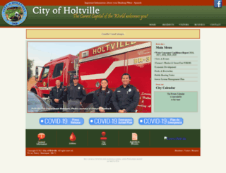 holtville.ca.gov screenshot