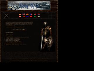 holy-war.net screenshot