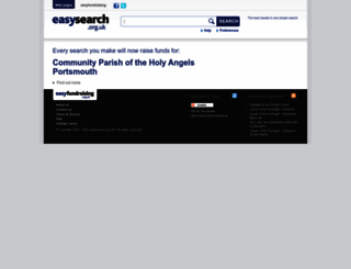 holyangelsportsmouth.easysearch.org.uk screenshot