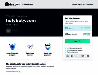 holyboly.com screenshot