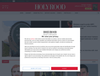 holyroodconnect.com screenshot