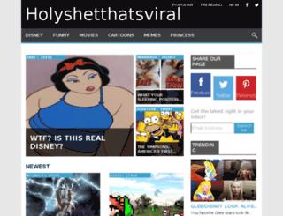 holyshetthatsviral.com screenshot
