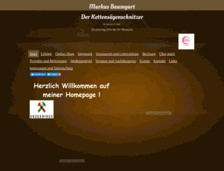 holz-baumgart.de screenshot