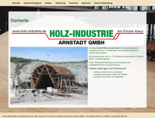 holz-industrie.de screenshot