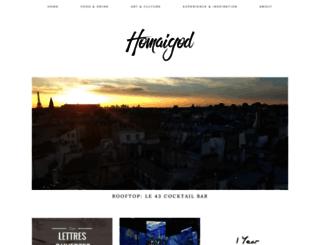 homaigod.com screenshot