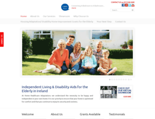 home-healthcare-adaptations.ie screenshot