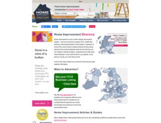 home-improvement-directory.co.uk screenshot