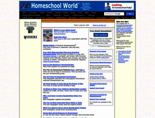 home-school.com screenshot